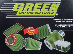 Filtr powietrza Green - Opel Astra G,H