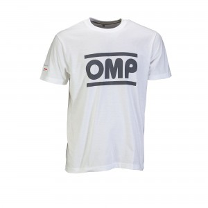 koszulka OMP RACING SPIRIT T-SHIRT white