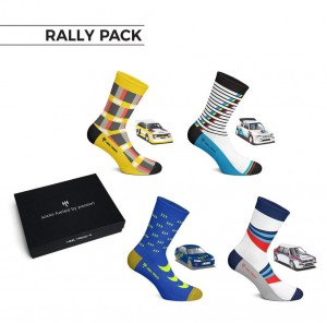 skarpety RALLY PACK (4 pary)